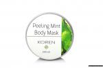 Peeling body mask