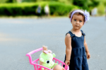Детска фотосесия в парк Св. Троица гр. София