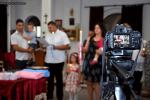 Заснемане на кръщене в гр. Перник