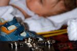 Преобличане на детето след кръщенето и помазването