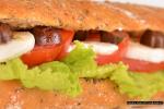 Сандвич с моцарела от Lord Sandwich