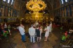 Заснемане на кръщене в Катедрален храм Св. Неделя