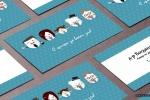 Графичен дизайн на визитки за стоматолог