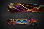Графичен дизайн на сноуборд 2